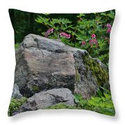 Garden Of Choice Throw Pillow