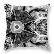 Garden Of Earthly Delights Throw Pillow