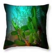 Garden Of Eden Light Throw Pillow