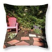 Garden Of One Throw Pillow