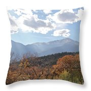 Garden Of The Gods 1 Throw Pillow