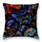 Garden Of The Unconscious Throw Pillow