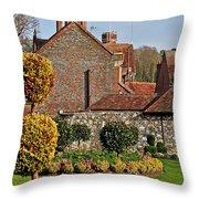 Garden Of Winchester Throw Pillow