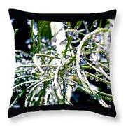 Garden Orbs Throw Pillow