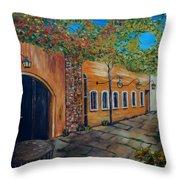 Garden Patio Throw Pillow