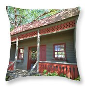 Garden Porch At Calloway Gardens Throw Pillow