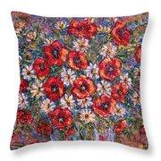 Garden Splendor Throw Pillow