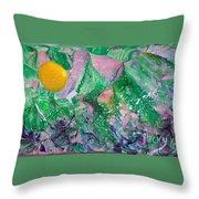Garden Sun Throw Pillow