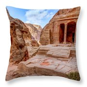Garden Tomb Throw Pillow