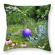Garden Universe Throw Pillow