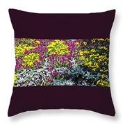 Garden Variety Throw Pillow