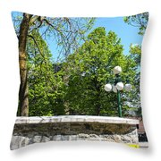 Garden View Series 09 Throw Pillow