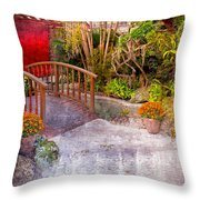 Garden View Series 25 Throw Pillow