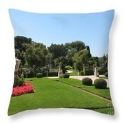 Garden Villa Ephrussi Throw Pillow