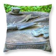 Gardener's Memorial Throw Pillow