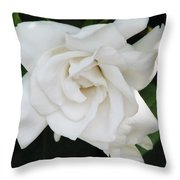 Gardenia Throw Pillow