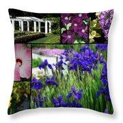 Gardens Of Beauty Throw Pillow