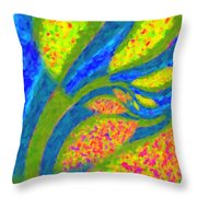 Gardens Of The Mind Throw Pillow