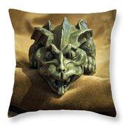 Gargoyle Or Grotesque Throw Pillow