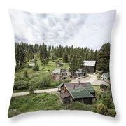 Garnet Ghost Town - Montana Throw Pillow