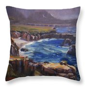 Garrapata Throw Pillow