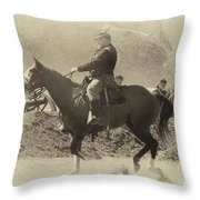 Garry Owen Throw Pillow