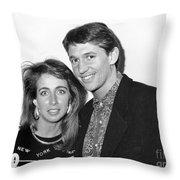 Gary Lineker Footballer Throw Pillow
