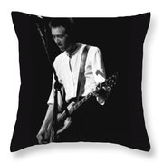 Gary Pihl On Guitar Throw Pillow
