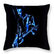 Gary Pihl Plays The Blues Throw Pillow