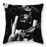 Gary Pihl Rocking Out In 1978 Throw Pillow