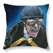 Gary Stevens Throw Pillow