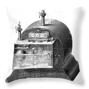 Gas Meter Throw Pillow