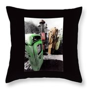Gas Pump Grave 23 Throw Pillow
