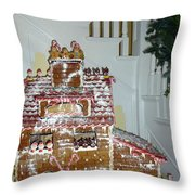 Gasparilla Gingerbread Throw Pillow