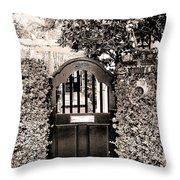 Gate 69 Charleston Sc Throw Pillow