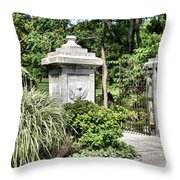 Gate Entrance Throw Pillow