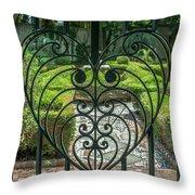 Gate Keeper Throw Pillow