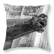 Gate Keeper Throw Pillow