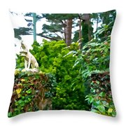 Gate Keepers Throw Pillow