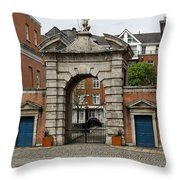 Gate Of Fortitude - Dublin Castle Throw Pillow