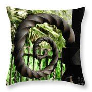 Gate Ornament 4 Throw Pillow