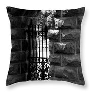 Gate To Grave  Throw Pillow