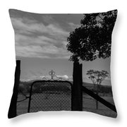Gated Light Throw Pillow