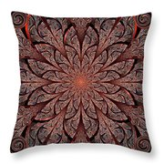 Gates Of Fire Throw Pillow