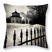 Gates Of Grace  Throw Pillow