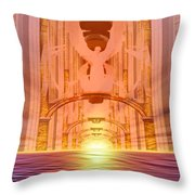 Vision Of Heaven Throw Pillow