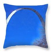 Gateway Arch St Louis 03 Throw Pillow