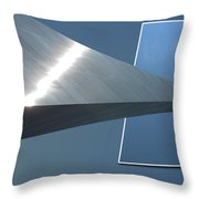 Gateway Arch St Louis 05 Throw Pillow