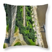 Gateway Arch St Louis 10 Throw Pillow