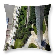 Gateway Arch St Louis 11 Throw Pillow